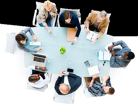 Mesa de emprendedores